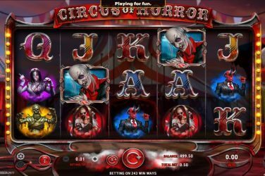 Circus of Horror GameArt