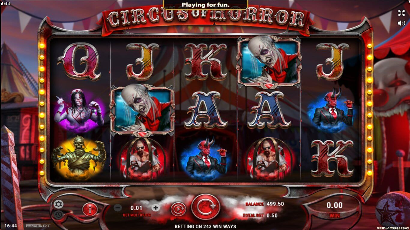 Circus of Horror from GameArt